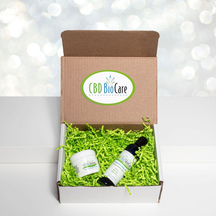 CBD CHOCOLATE PEPPERMINT PAIN BALM GIFT BOX