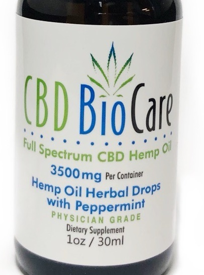 3500mg CBD OIL PHYSICIAN GRADE