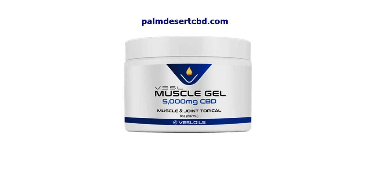 EXTRA STRENGTH – VESL CBD Muscle Gel 5000mg