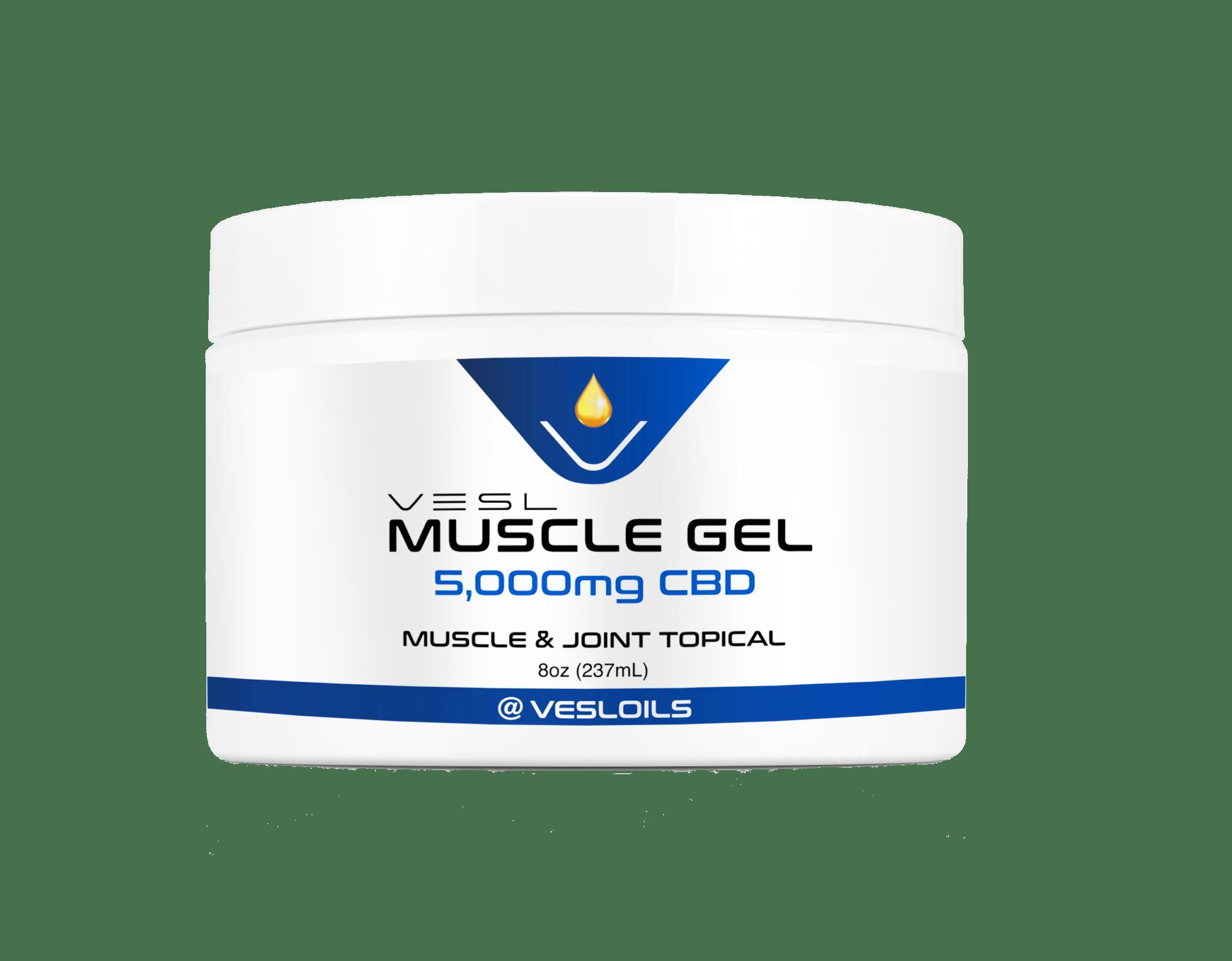 vesl cbd muscle cream 5000mg