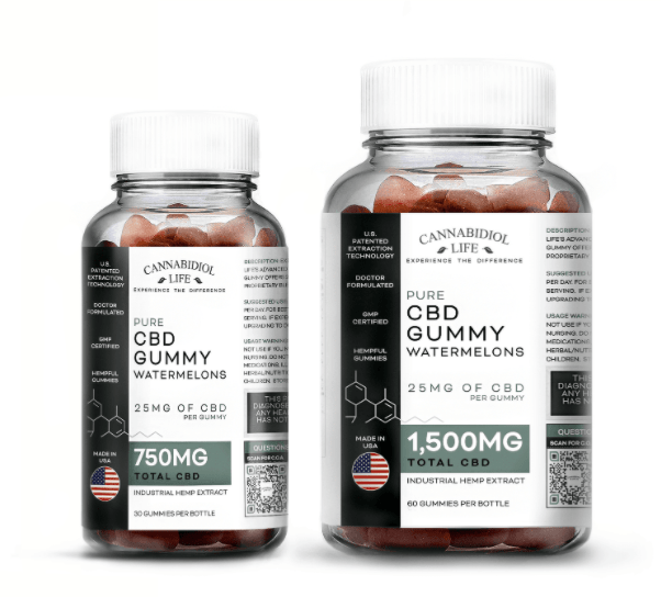 WATERMELLON CBD GUMMIES