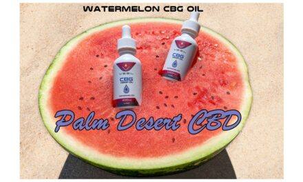 Watermelon CBG Oil – Palm Desert