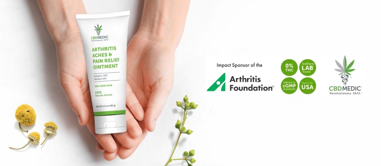 arthritis CBDMED PALM DESERT