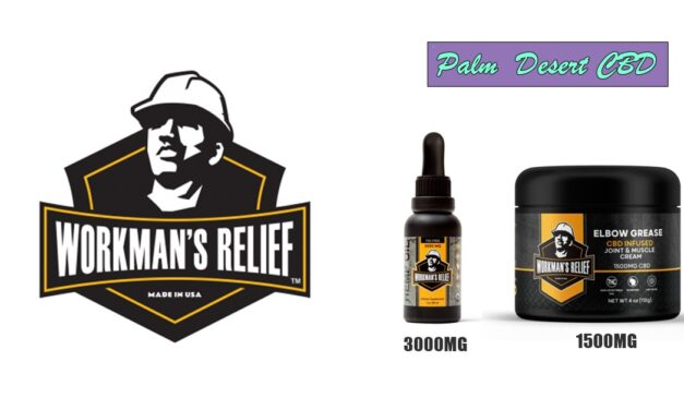 WORKMANS RELIEF CBD ELBOW GREASE | PALM DESERT CBD